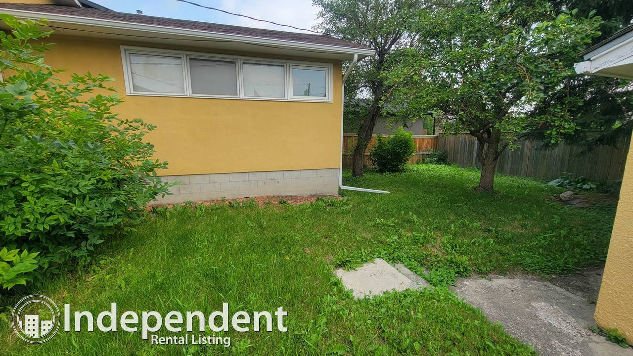 2 Bedroom Bungalow for Rent in Shaganappi: Pet Friendly!!