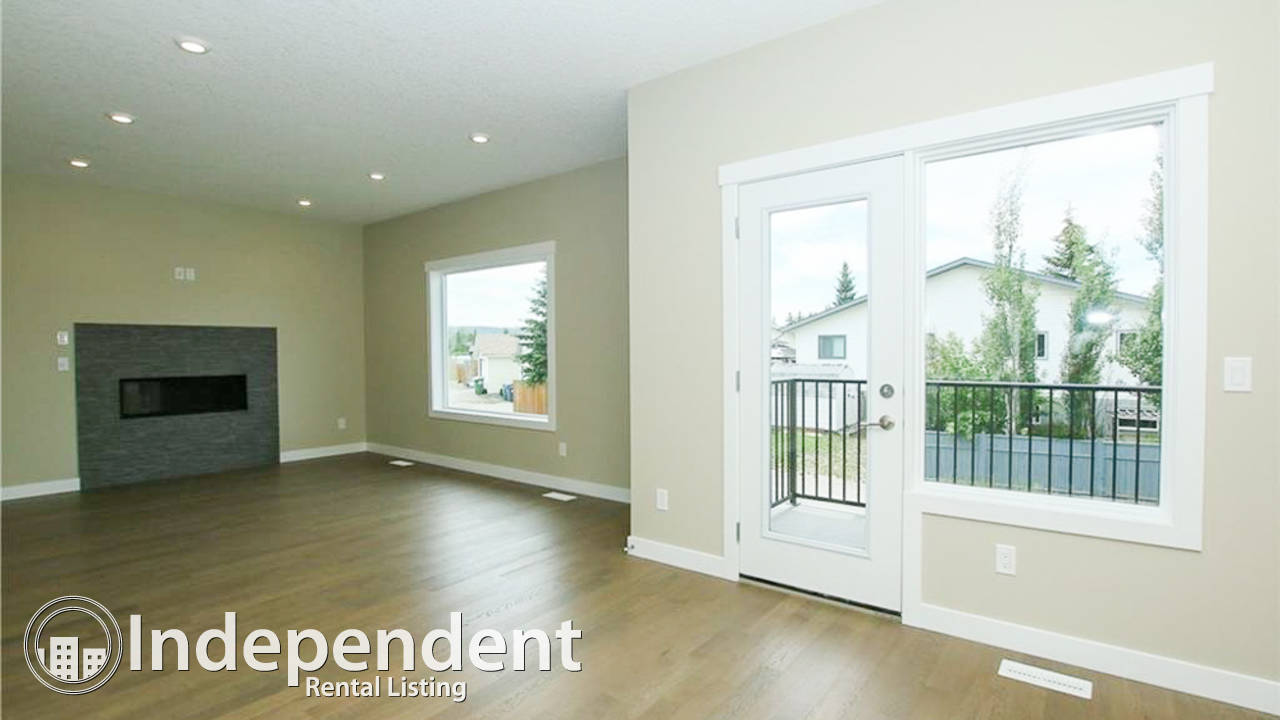 3 Bedroom Duplex for Rent in Cochrane
