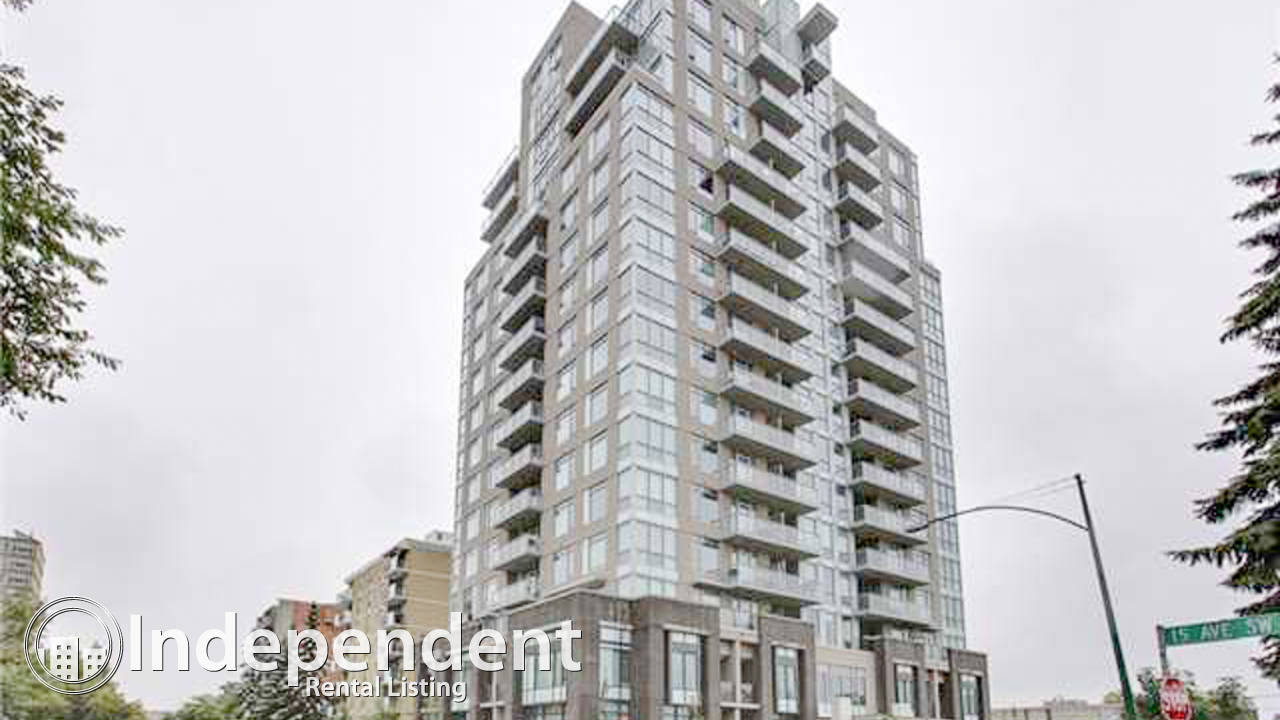 Furnished 1 Bd Condo for Rent in Lower Mount Royal: Utilities Included
