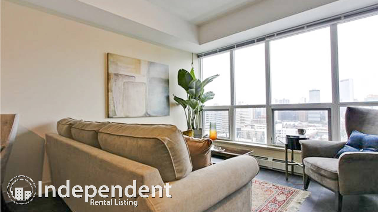 Furnished 1 Bd Condo for Rent in Lower Mount Royal
