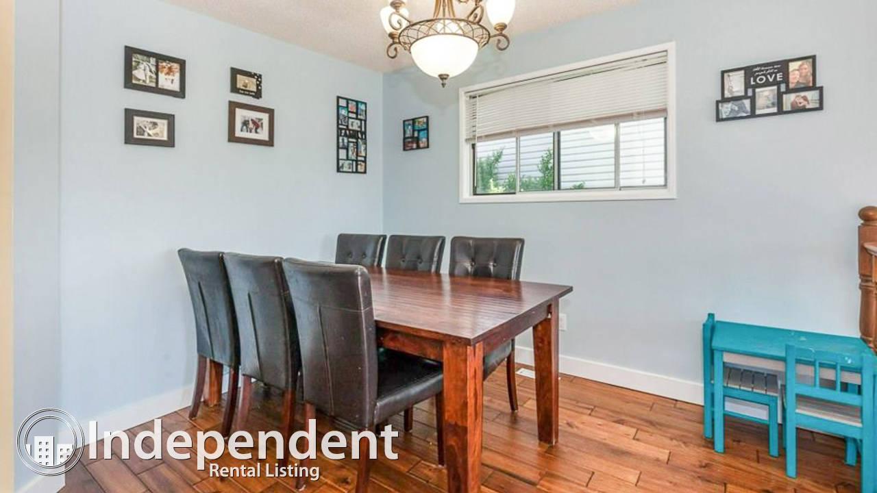 3 Bedroom Main Floor Suite for Rent in Beddington