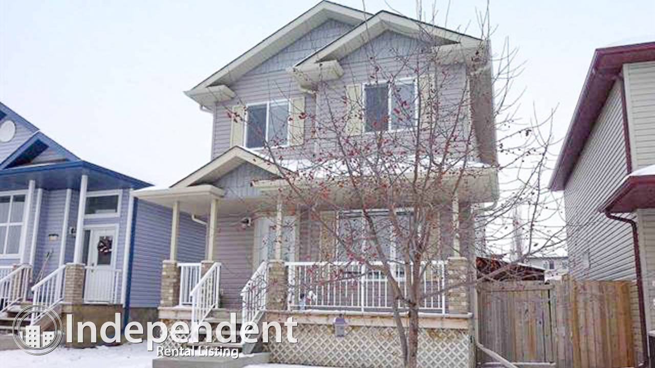 3 Bedroom House for Rent in Spruce Grove