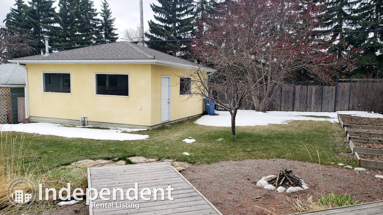 5 Bedroom Bungalow for Rent in Banff Trail: Pet Negotiable