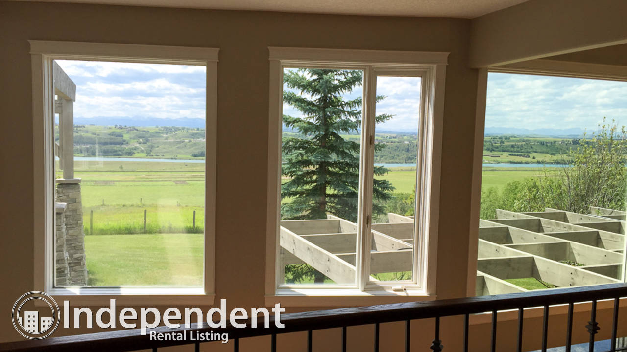 8 Bedroom Home with PANORAMIC Views of Mountains for Rent in Bearspaw Village