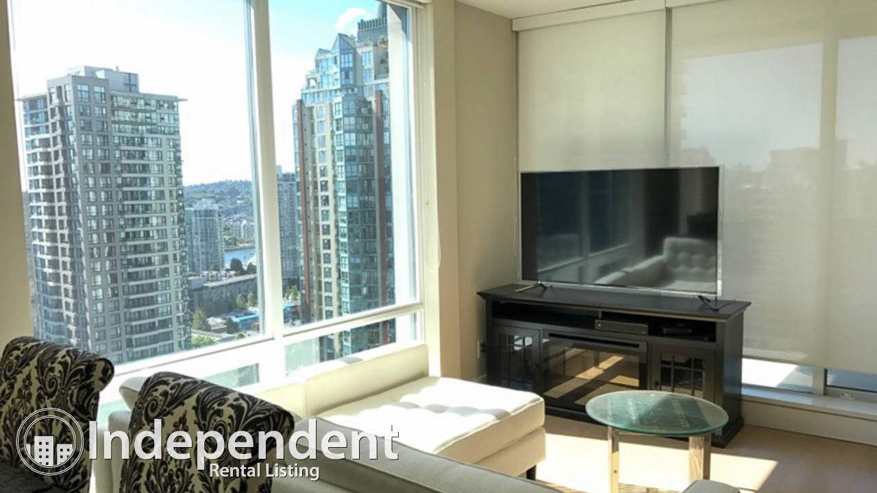 Furnished 2 Bedroom Condo for Rent in Downtown