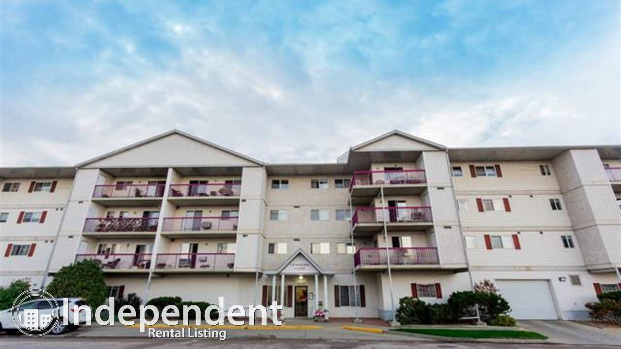 2 Bedroom Condo for Rent in Leduc/ Adult Building 55+!