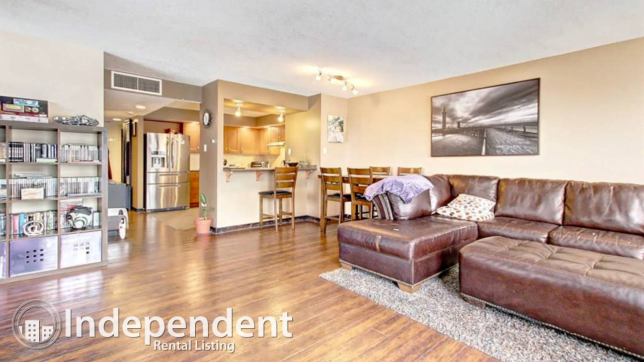 2 BR-Furnished Condo in West Downtown w/ UNDRG. Parking & Utilities Included!