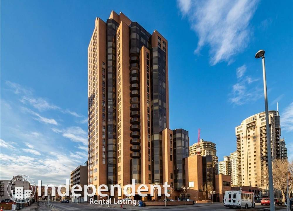 1801 - 1100 8 Ave  SW, Calgary, AB - $1,995 CAD/ month