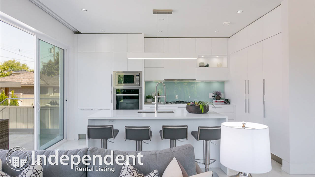 3 Bedroom Main Floor Suite for Rent in Point Grey