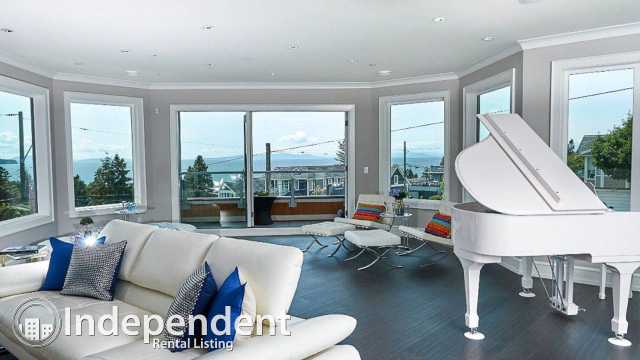 8 Bedroom Gorgeous House for Rent in White Rock