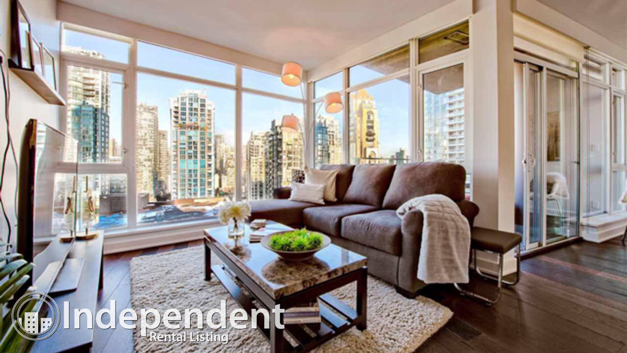 1 Bedroom plus Den Condo for Rent in Yaletown