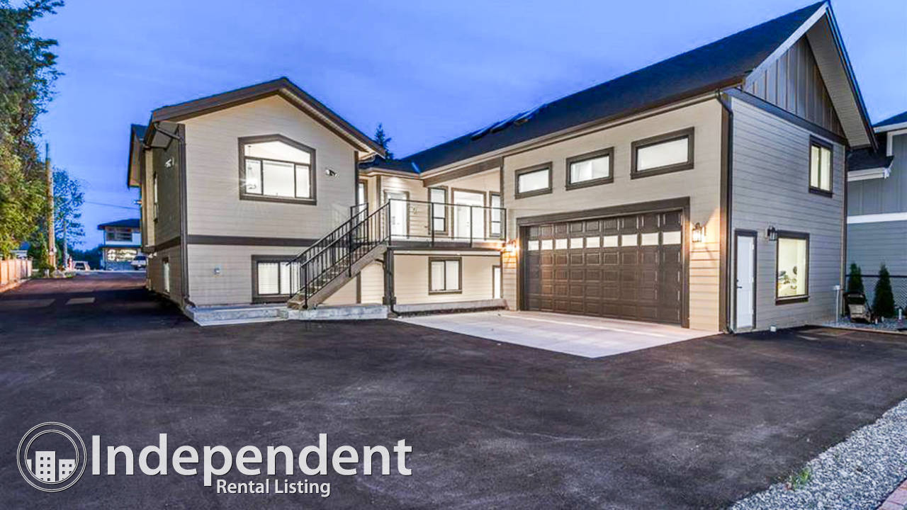 5 Bedroom Brand New Home for Rent in Langley