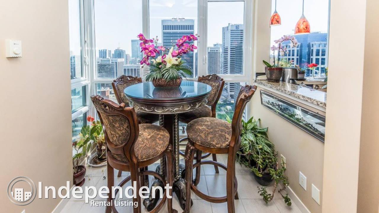 3 Bedroom Gorgeous Condo for Rent in Coal Harbor