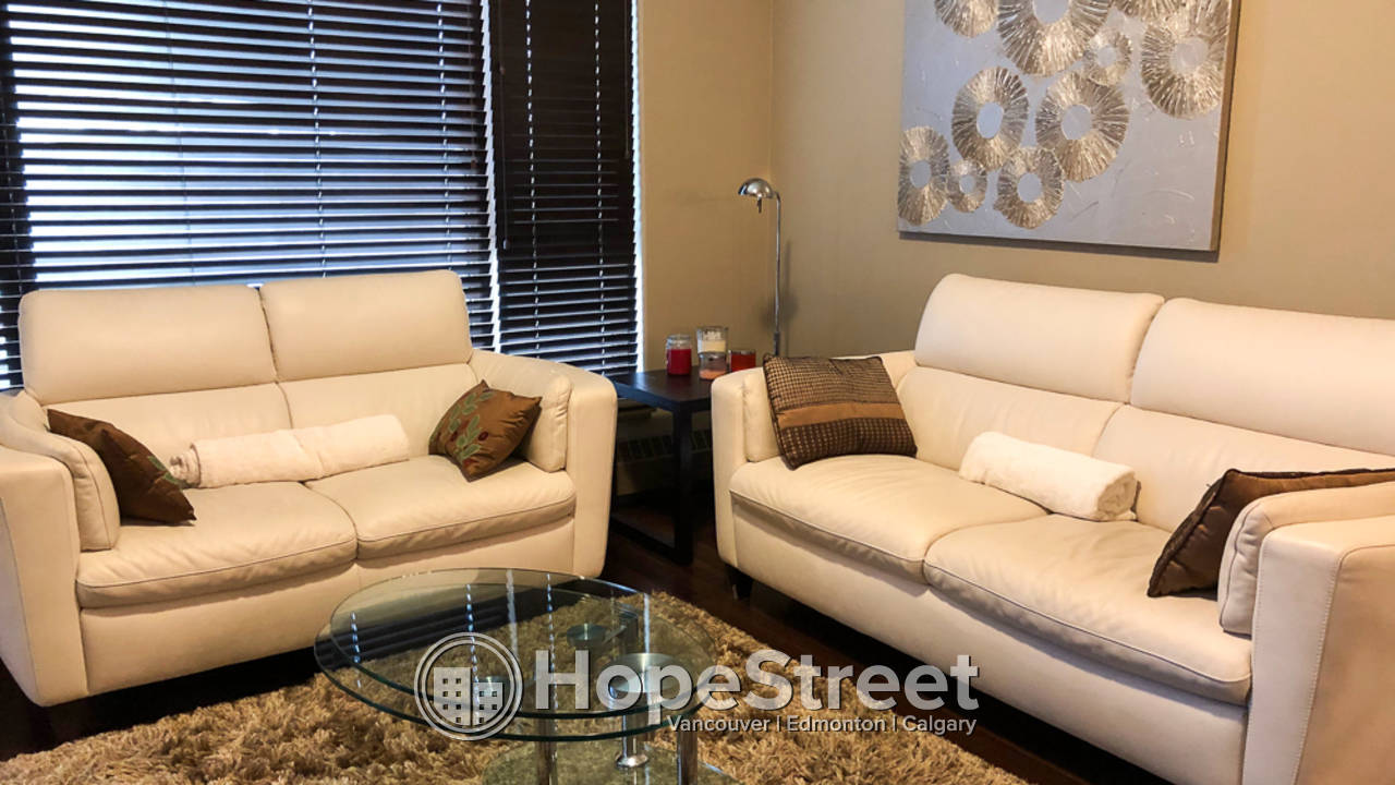 1 Bedroom + Den Furnished Condo for Rent in Inglewood