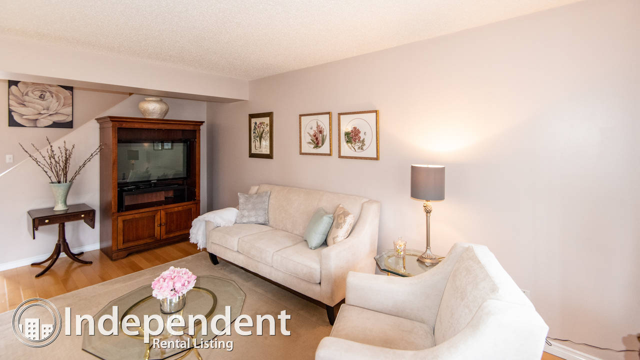 Bright 3 Bedroom Condo for Rent in Summerlea: Pet Friendly