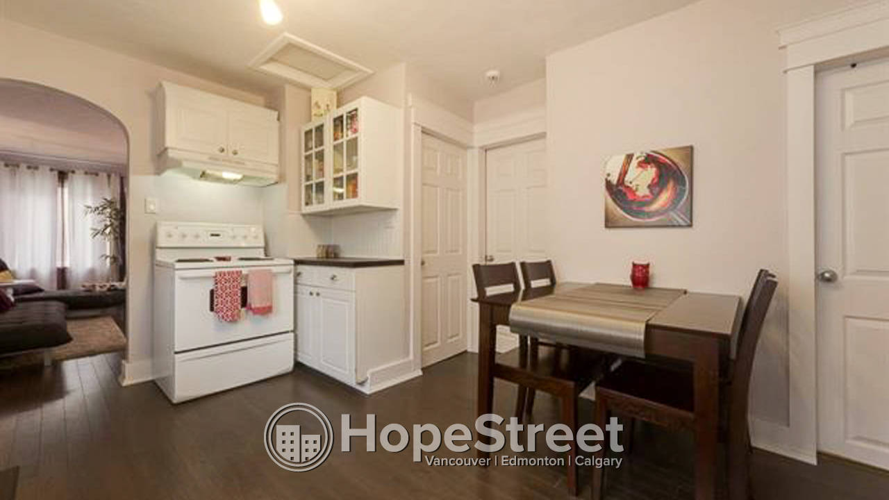 2 Bedroom Upgraded House for Rent in Parkdale