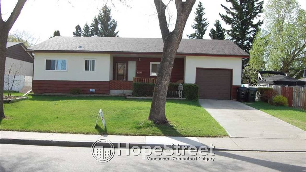 3 Bedroom Bungalow For Rent in Sherwood Park: Pet Friendly