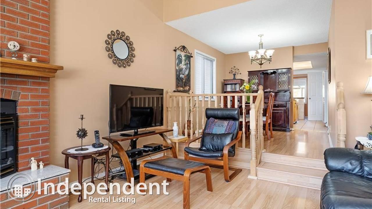 3 Bedroom Cozy Home for Rent in Cedarbrae: December Rent FREE