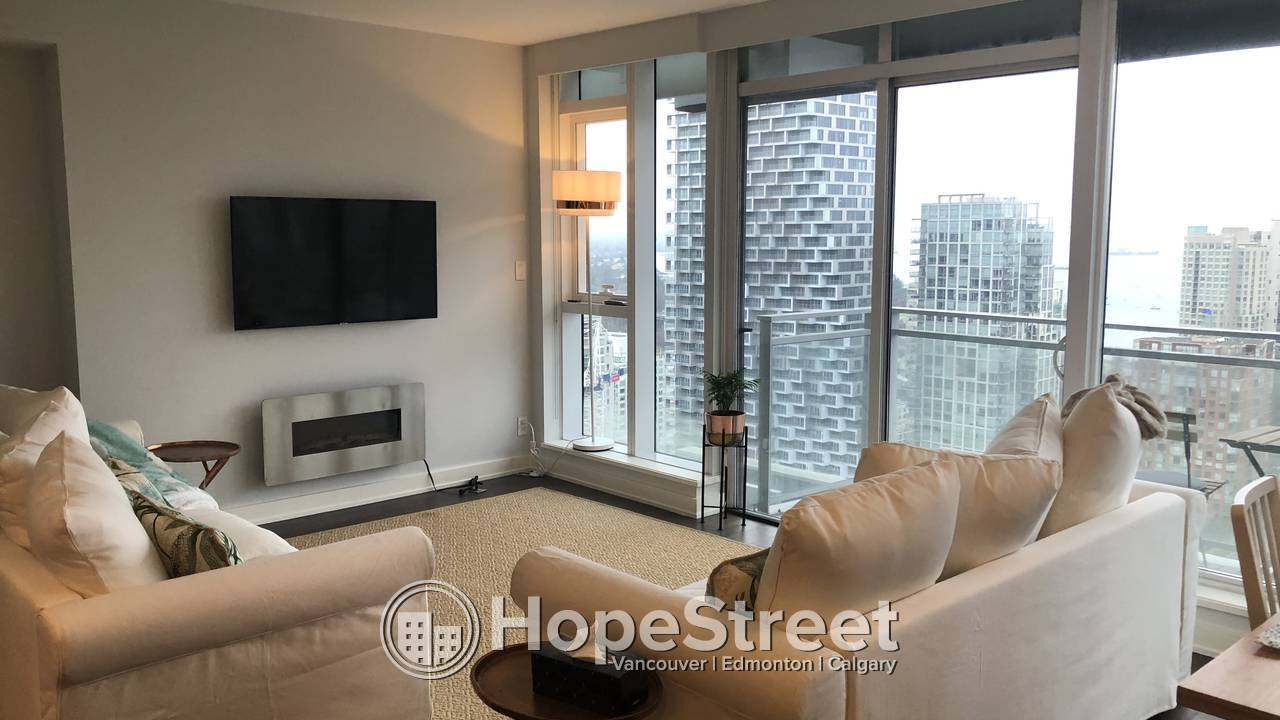 2 BR - Beautifully FURNISHED Condo for Rent in Yaletown w/ STUNNIG VIEWS!!