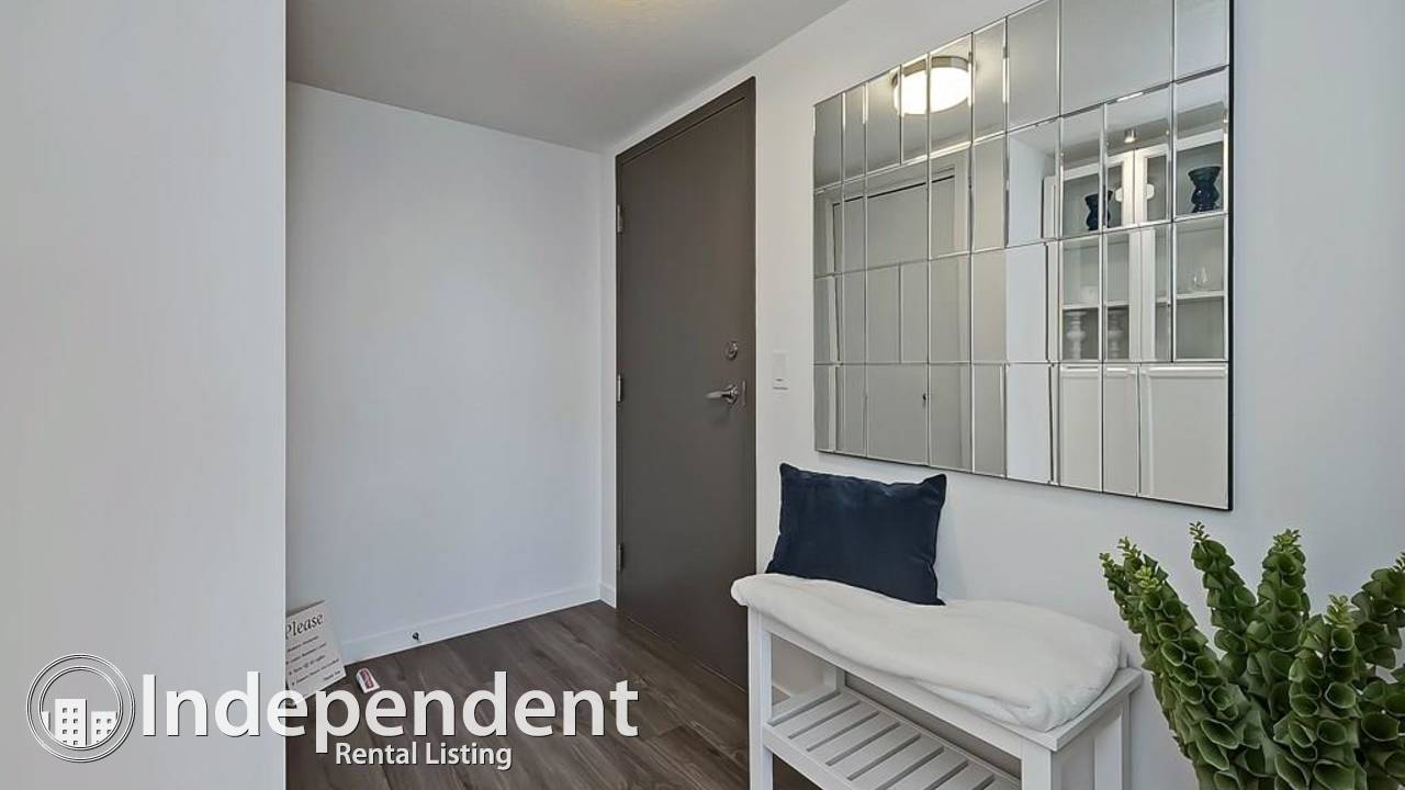 2 Bedroom Condo for Rent in Sunalta: Partially Furnished