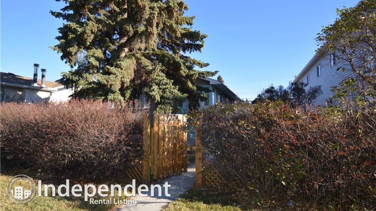 2 Bedroom Basement Suite for Rent in Bowness