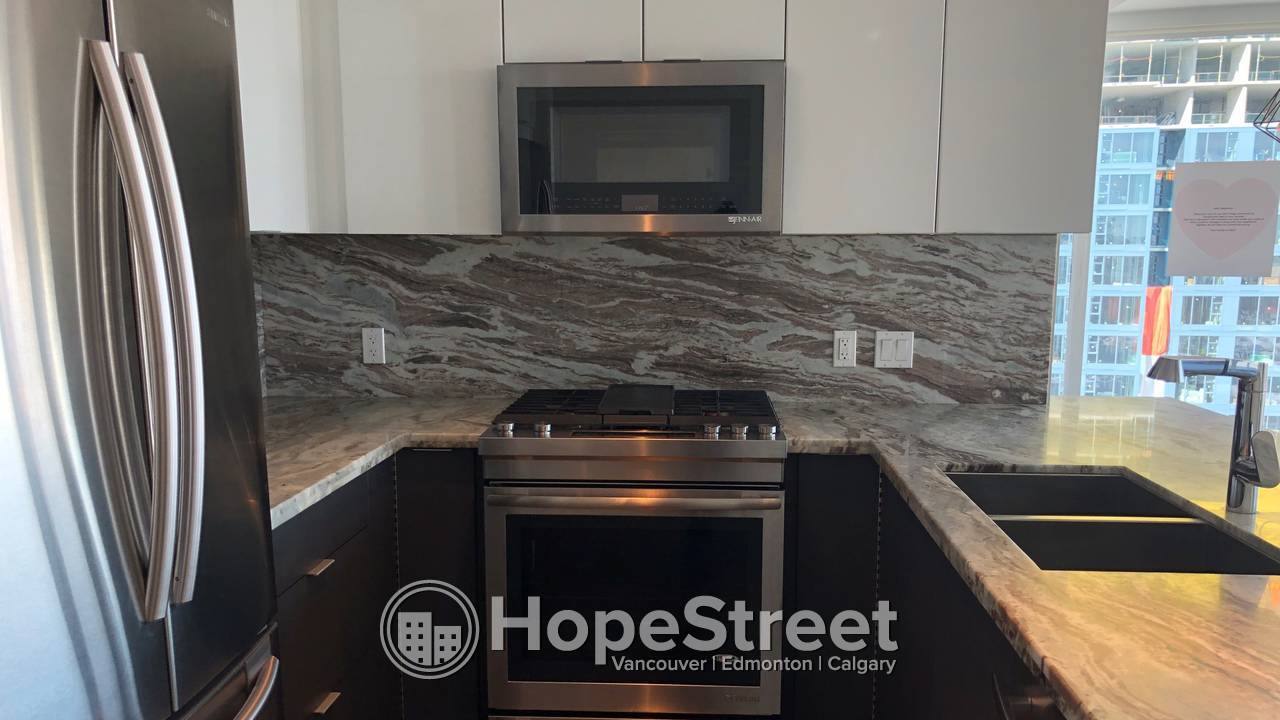 2 Bedroom Condo For Rent in East Village: Heat & Water Included