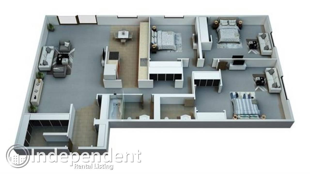 3 Bedroom Condo for Rent in Belvedere