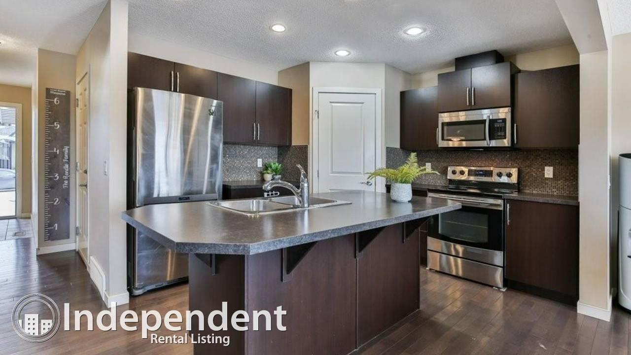 3 Bedroom Duplex for Rent in Cochrane