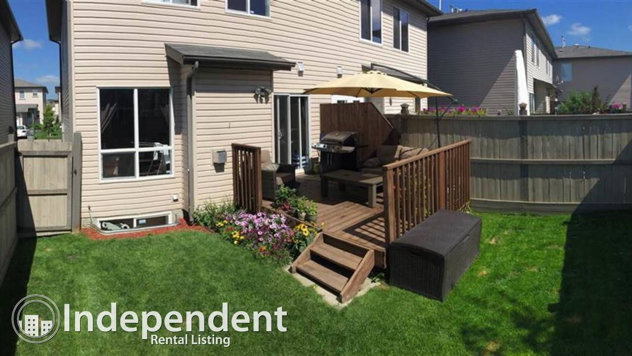 3 Bedroom Townhouse For Rent in Morinville