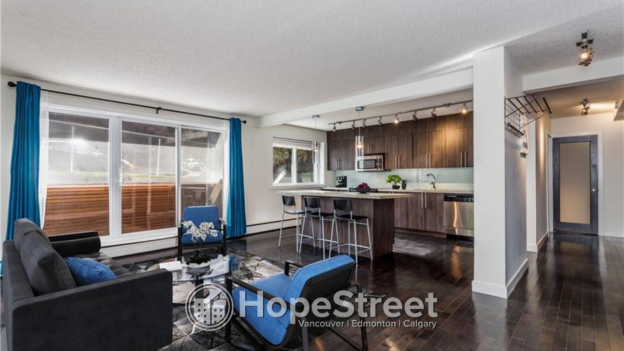 2 Bedroom Condo for Rent in Lower Mount Royal/ Heat & Water Included