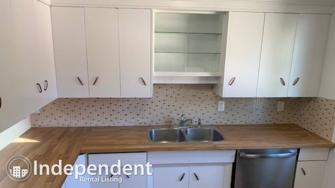 2 Bedroom RENOVATED Main Floor For Rent in Parkdale