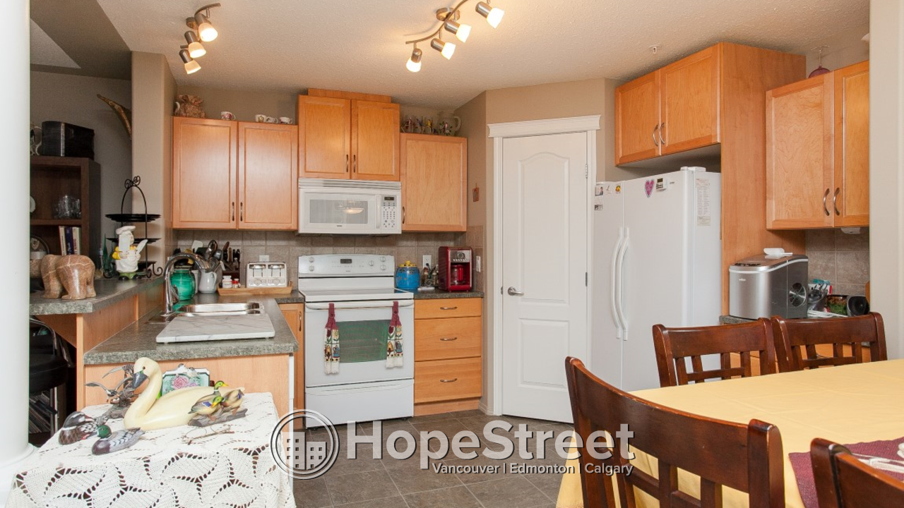 Exceptional 1 Bed + LARGE DEN Condo in Mill Woods: Adult Building (18+)