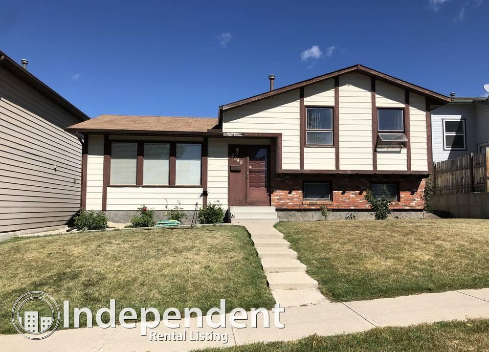 4348 Whitehorn Drive NE, Calgary, AB - $1,800