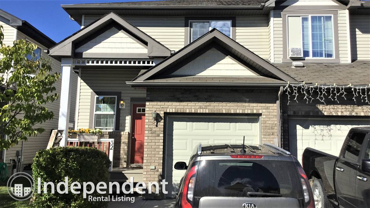 3 Bedroom Charming Duplex For Rent in Spruce Grove