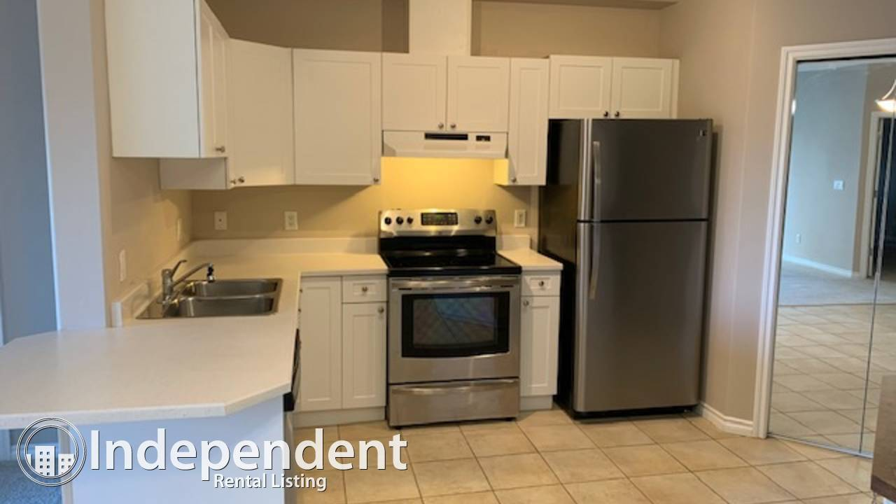 2 BD ap w/undgr parking in the desirable Oliver! Heat & Water Included