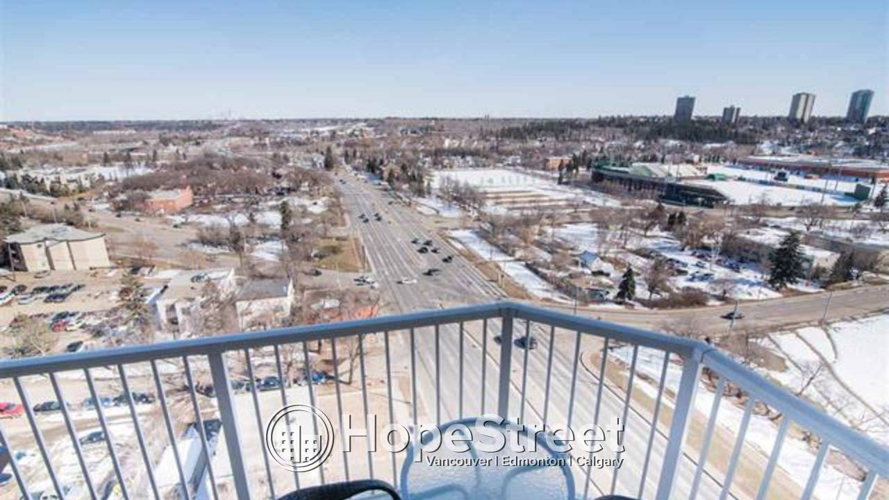 Breathtaking views from this luxury sub-penthouse await you! 2 PARKING STALLS