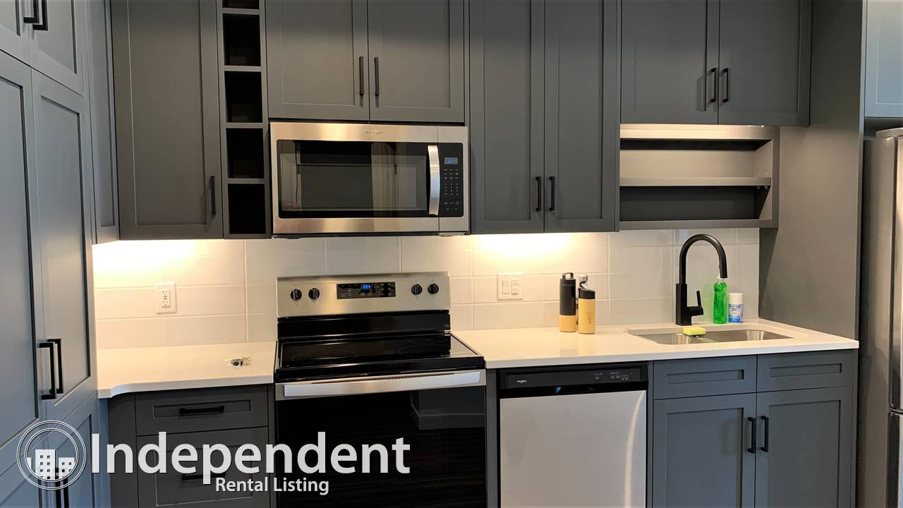 1 Bed BRAND NEW Condo For Rent in University District w/ undgr parking