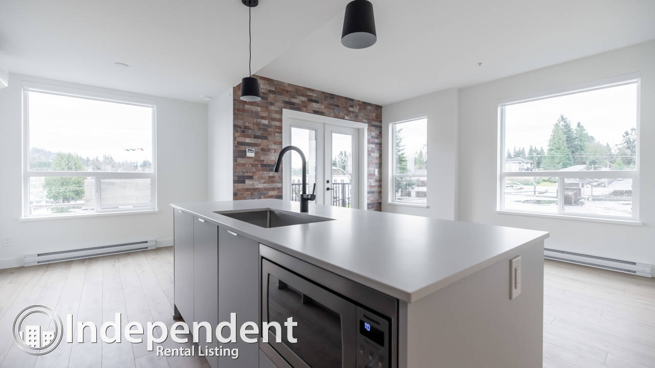 UPPER MONTROSE - BRAND NEW 2 Bed Corner UNIT w/ VIEWS of Mt. Baker!