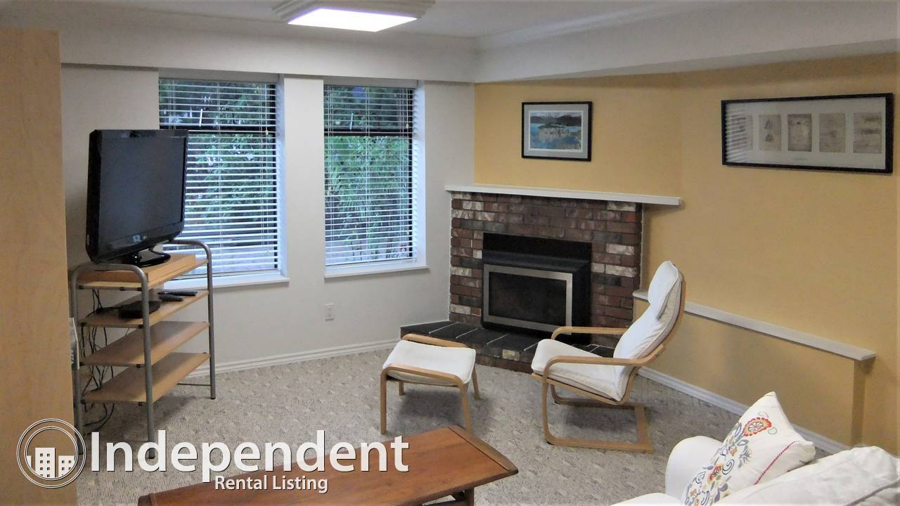 2 Bed FURNISHED Garden Level Suite in MUSQUEAM: UTILITIES INCLUDED/ CAT FRIENDLY!