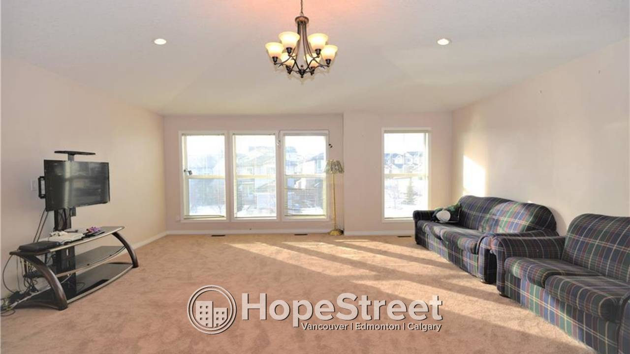 3 BR Main Suite For Rent in Panorama Hills w/ Stunning Mountain Views