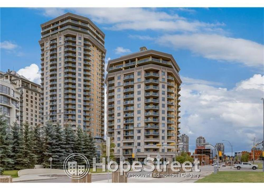 1002 - 1121 6 Ave SW, Calgary, AB - $1,300 CAD/ month