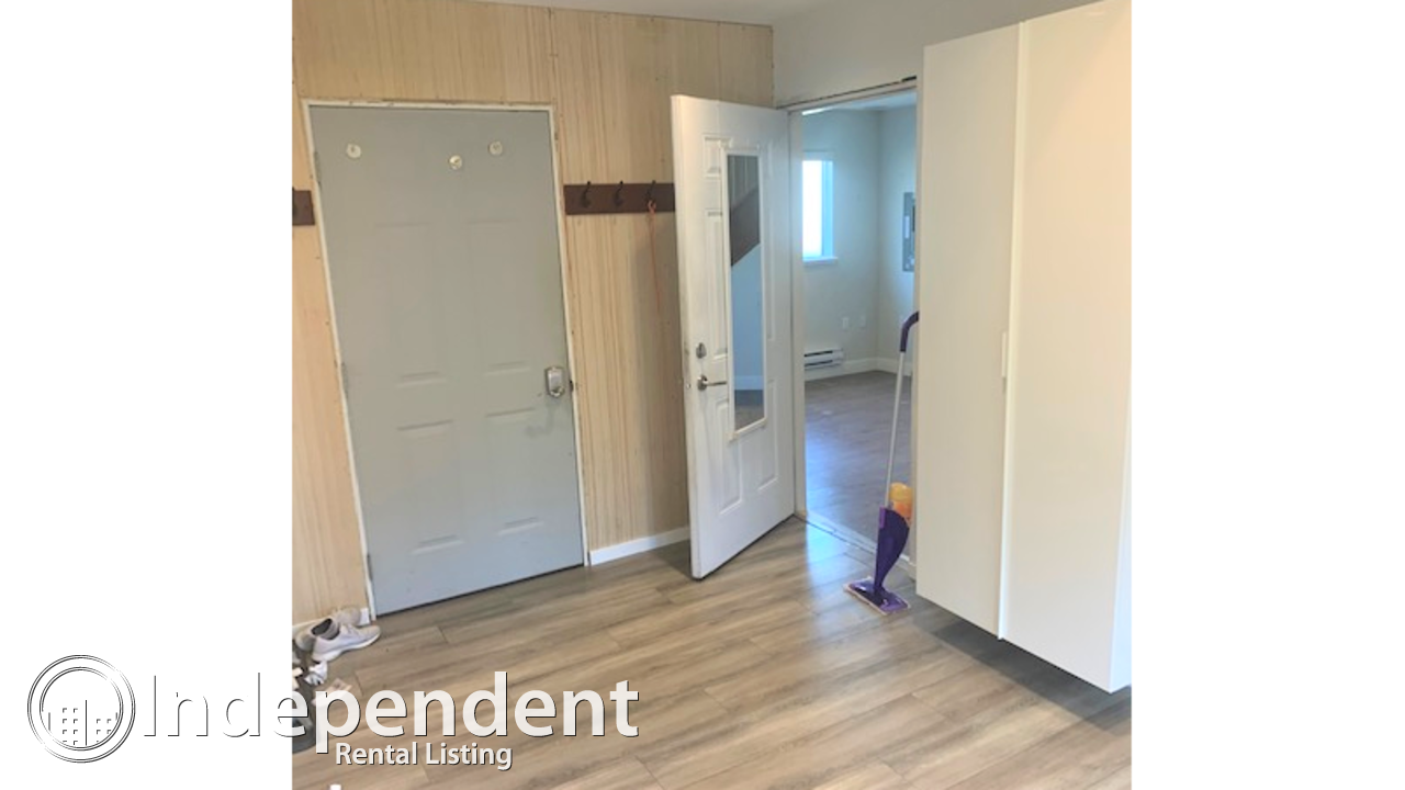 2 BR Laneway House For Rent in Mount Pleasant.