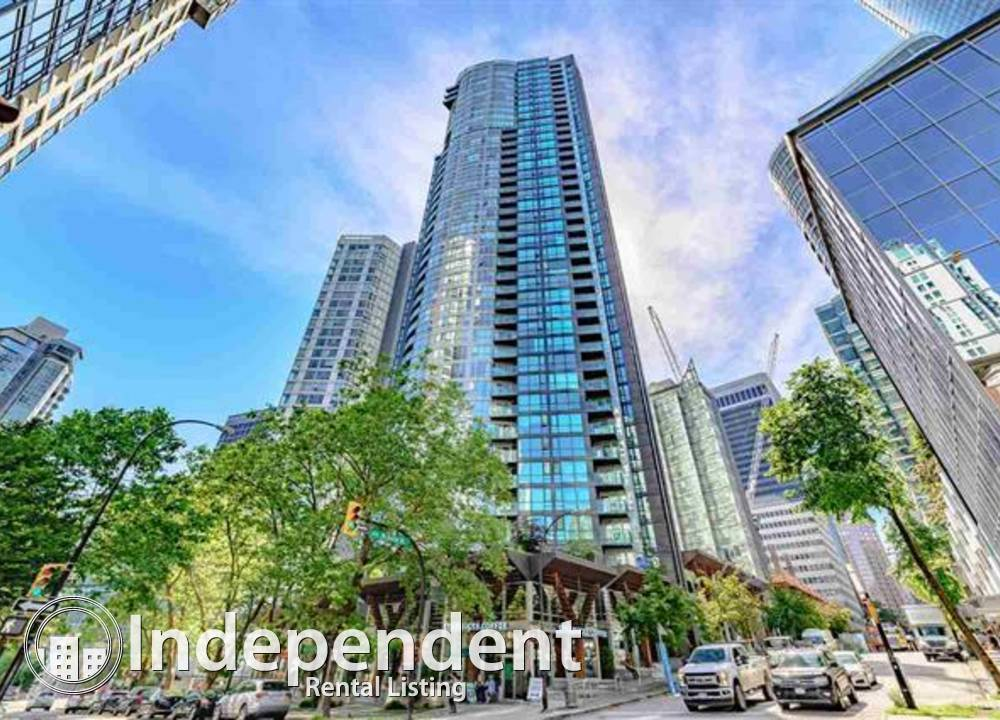 2402 - 1189 Melville Street West, Vancouver, BC - 3,280 CAD/ month