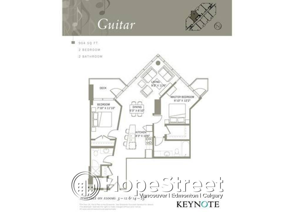 302 - 220 12 Ave SE, Calgary, AB - 1,800 CAD/ month