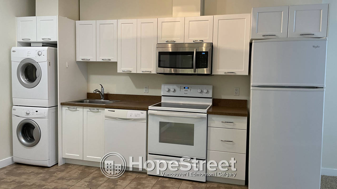 1 BR Condo for Rent in Brentwood/ In-suite Laundry/ Underground Parking/ STORAGE