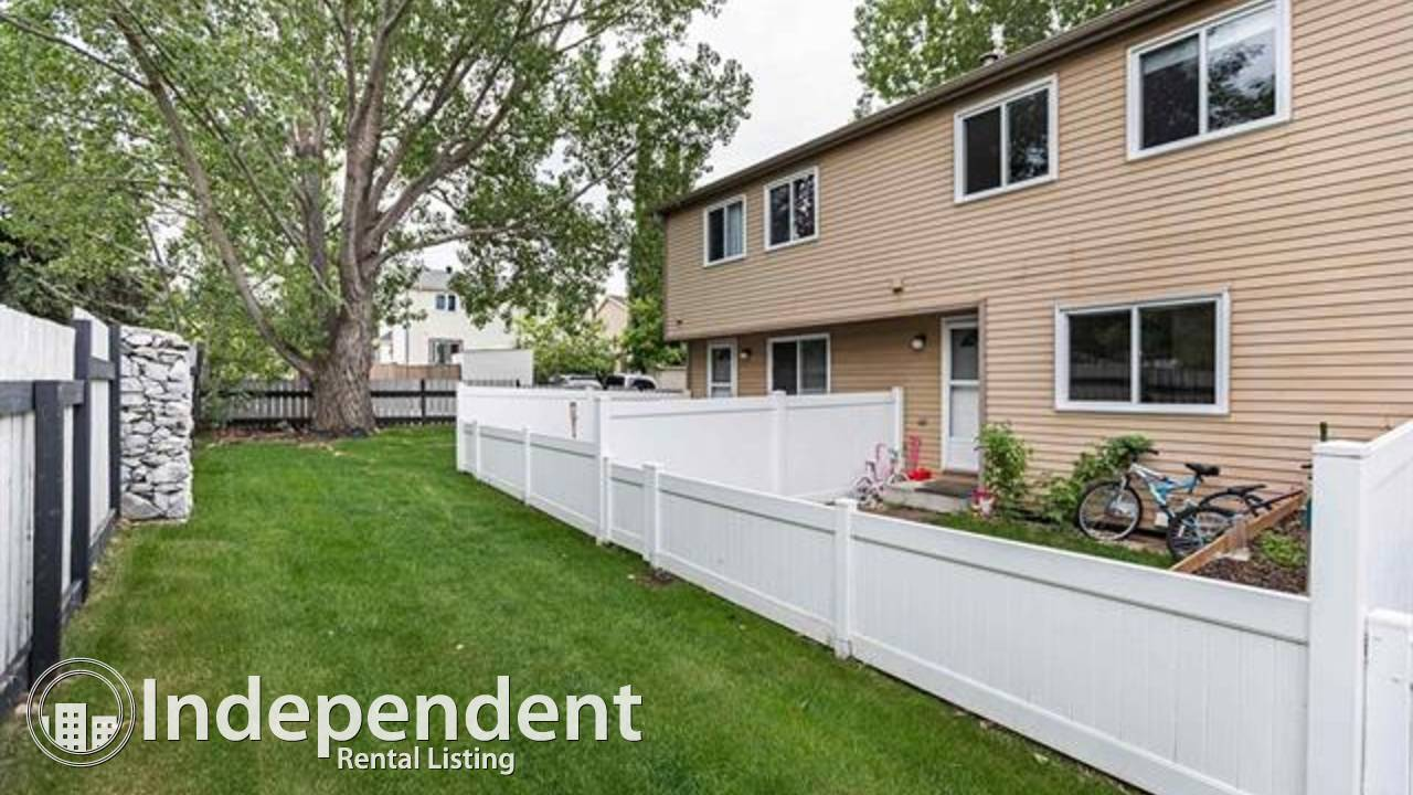 3 BR Renovated Townhouse for Rent in Sherwood Park